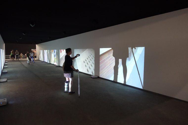 Installation de Christian Marclay (Grande Halle).
