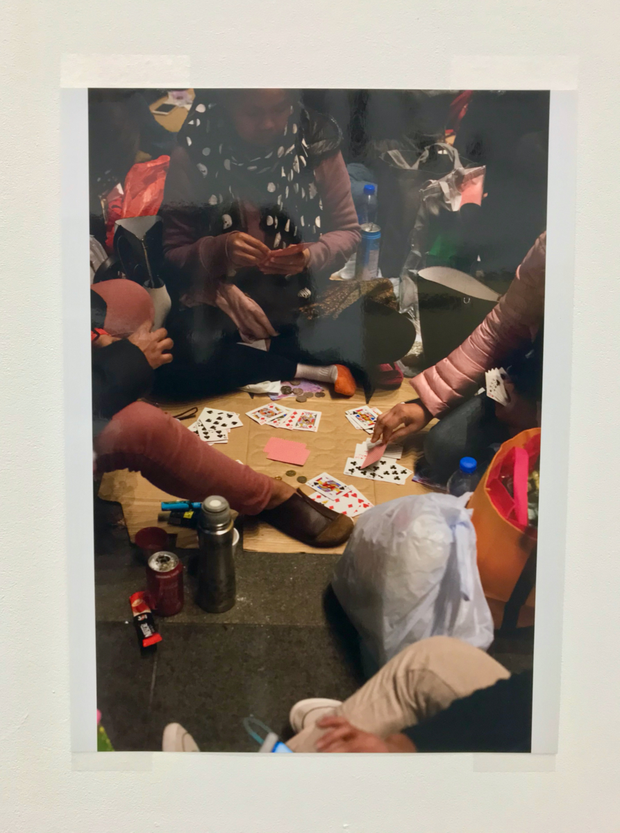 Wolfgang Tillmans, Playing cards, Hong Kong, 2018