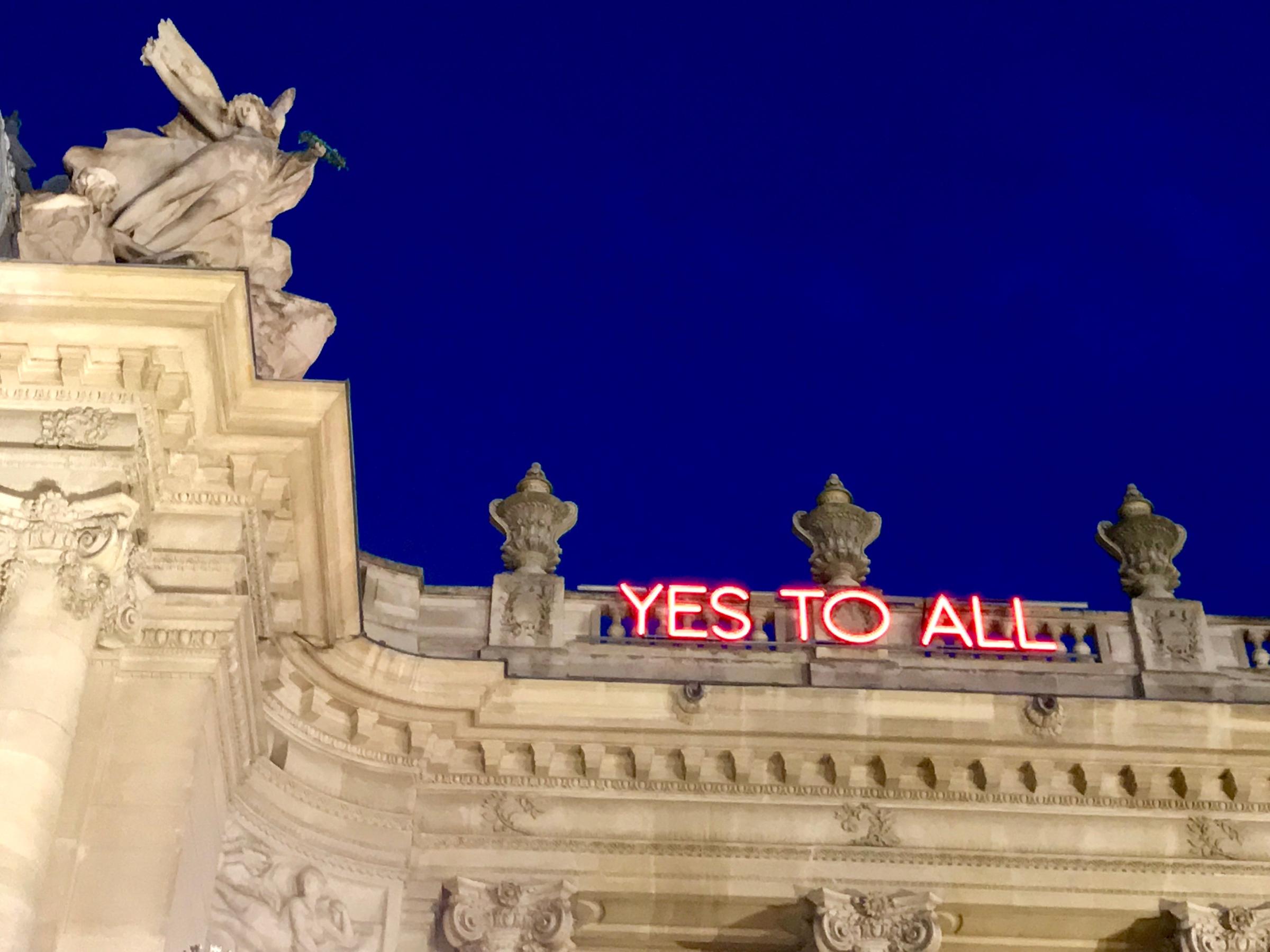 Sylvie Fleury, Yes to All, 2009, Thaddaeus Ropac – Paris ...Sylvie Fleury Yes To All